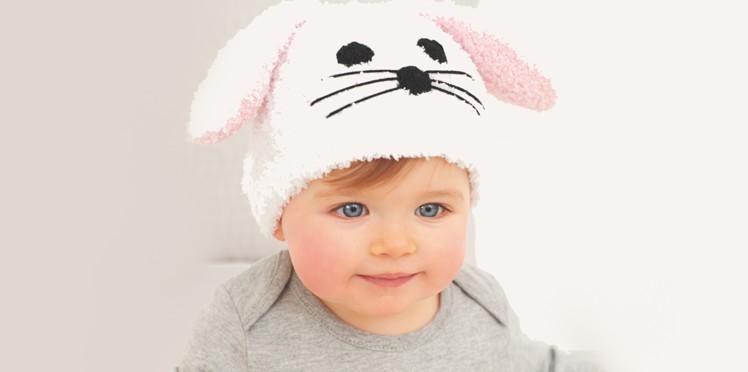 Tricot bonnet animaux